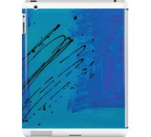 Torrential Azure iPad Case/Skin