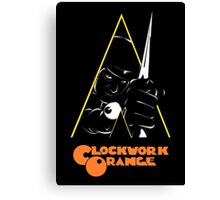 A Clockwork Orange (Airbrushed) Canvas Print