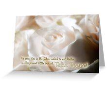 Take Peace! Greeting Card