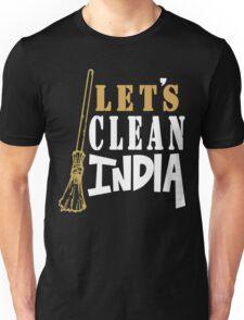 Clean India Funny Geek Nerd Unisex T-Shirt