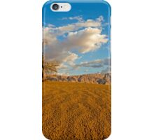 Dead Acacia tree in the Aravah Desert, Israel iPhone Case/Skin