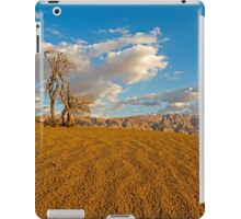 Dead Acacia tree in the Aravah Desert, Israel iPad Case/Skin
