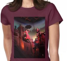 Mary Poppins- The Great Movie Ride Womens Fitted T-Shirt