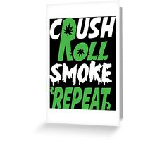 Crush Rol Funny Geek Nerd Greeting Card