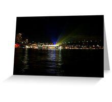 Vivid - Light Projectors Greeting Card