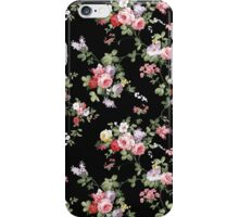 Vintage Elegant Girly Pink Red Trendy Roses Floral iPhone Case/Skin