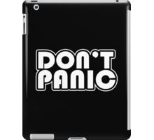Don't Panic Funny Geek Nerd iPad Case/Skin