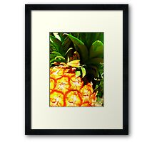 Just A Pineapple... Framed Print