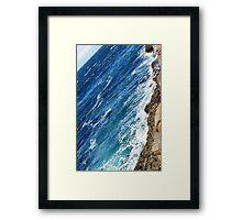 Irish Blue Framed Print
