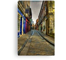 Shambles #2 - York Canvas Print
