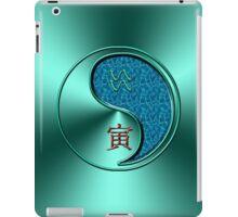 Aquarius & Tiger Yang Water iPad Case/Skin