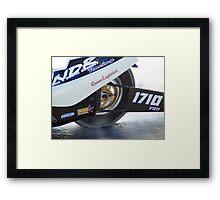wheelie good Framed Print