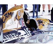 Damon Hill, Portugal Photographic Print