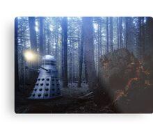 Dalek Forest Metal Print