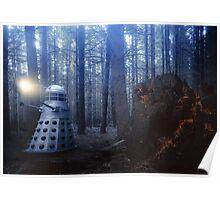 Dalek Forest Poster