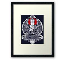 Siddhartha Gautama Buddha Sunrise Framed Print