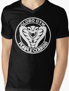 Globo Gym Funny Geek Nerd Mens V-Neck T-Shirt