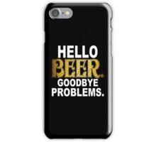 Hello Beer Funny Geek Nerd iPhone Case/Skin