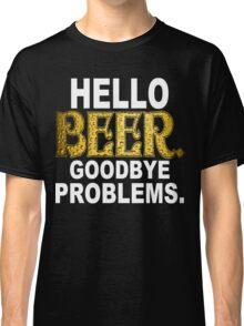 Hello Beer Funny Geek Nerd Classic T-Shirt