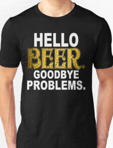 Hello Beer Funny Geek Nerd T-Shirt
