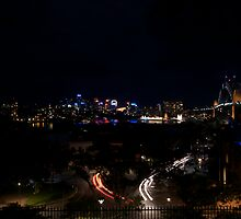 View from observatory hill by Zachary Law