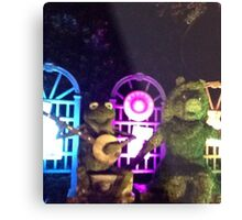 Kermit and Miss Piggy- EPCOT Flower and Garden Show Metal Print