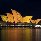 Opera House Vivid Festival by Zachary Law
