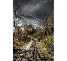 Autumns Road Photographic Print
