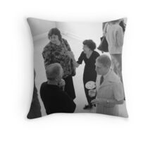 The Influence of Brilliance Throw Pillow