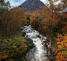 Buachaille Etive Mhor by Martina Cross