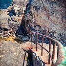 Rusty Staircase towards Refreshment HDR by Jakov Cordina
