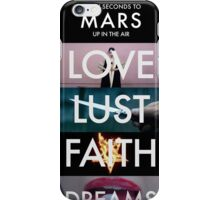30 Seconds To Mars Collage iPhone Case/Skin