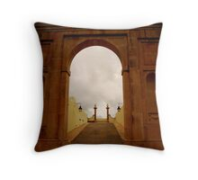 Light of Heaven-Featured 6/20/09 Lisbon and Surroundings Throw Pillow