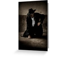 Outlaw Man Greeting Card
