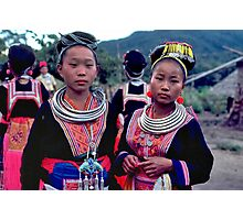 Hmong maidens Photographic Print