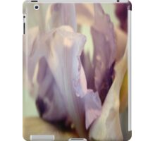 Pale Lilac Iris Abstract iPad Case/Skin