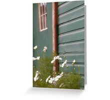 Blue Barn Greeting Card