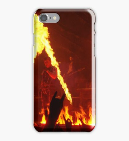 Rammstein , must be hot there  iPhone Case/Skin