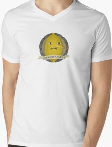 Lemongrab Mens V-Neck T-Shirt