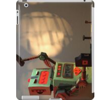 The robots worked. Robots are tired. iPad Case/Skin