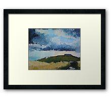 Ingleborough, Yorkshire Dales Framed Print