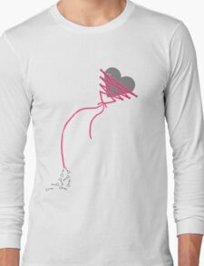 My Heart is Tied Long Sleeve T-Shirt