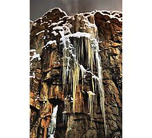 ROCK AND ICE Photographic Print