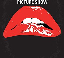 No153 My The Rocky Horror Picture Show minimal movie poster by JiLong