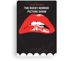 No153 My The Rocky Horror Picture Show minimal movie poster Canvas Print