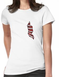 My Heart is Open Womens Fitted T-Shirt
