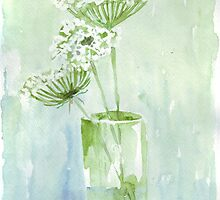 Queen Anne's Lace (Daucus Carota) by Maree  Clarkson