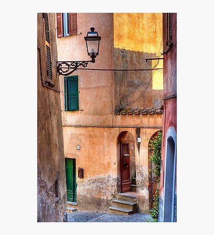 Italian alley Photographic Print