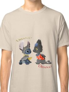 Toothless and Stitch Classic T-Shirt
