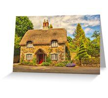 Ugbrooke Cottage Greeting Card